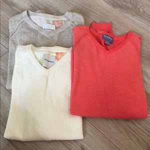 Tommy Bahama sweater bundle